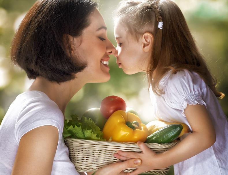 gezond voedsel eten