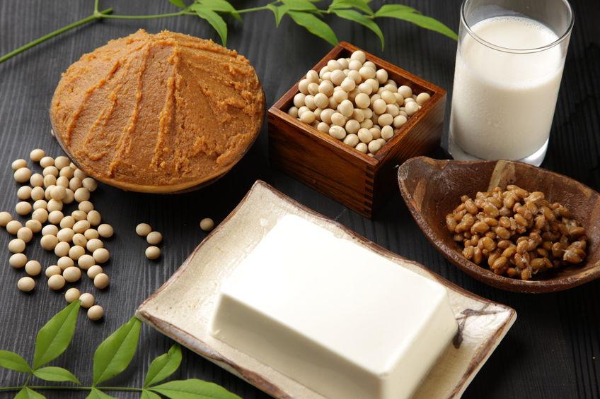 Japans sojabonen verwerkt voedsel