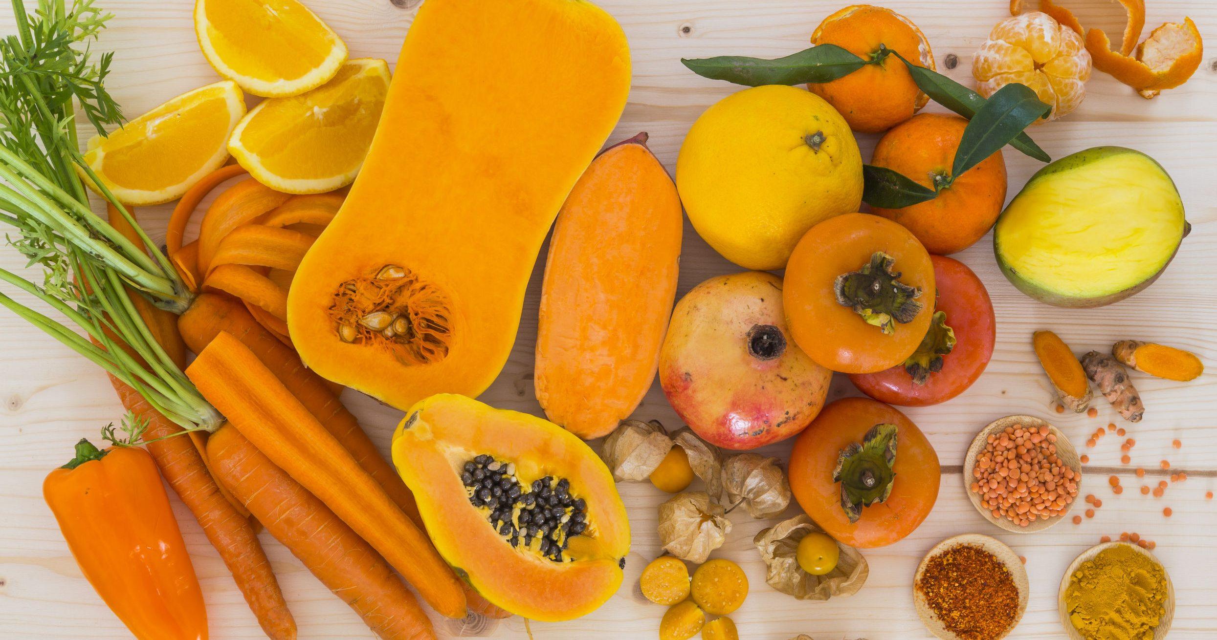 voedingsmiddelen rijk aan vitamine a
