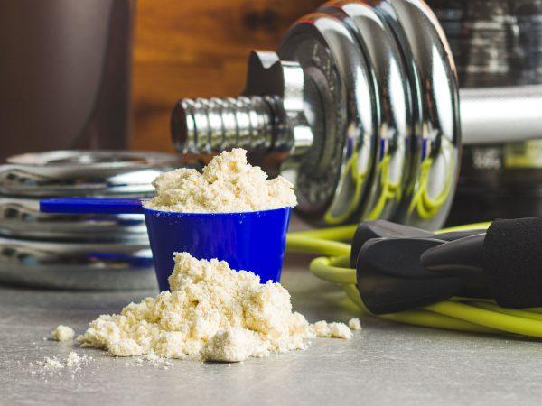 gewichtstoename poeder en oefeningen spullen
