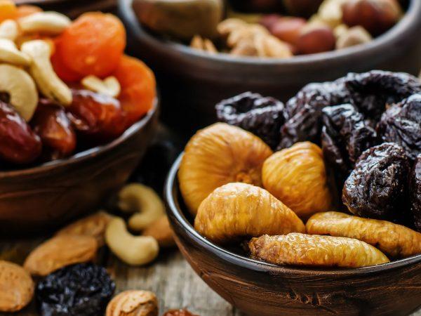 gedroogd en geconserveerd fruit