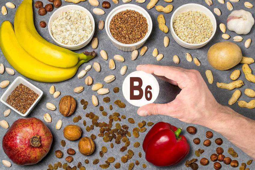 Voedsel rijk aan vitamine B6