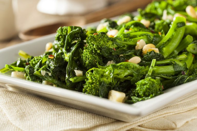 Sauteed Green Broccoli Rabe