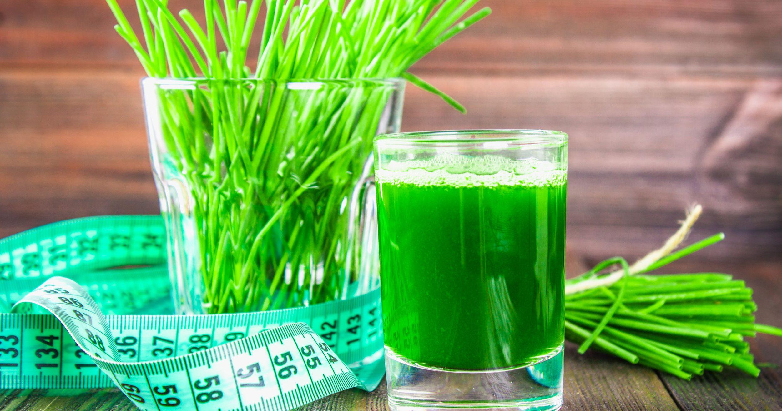 groen sap voor gewichtsverlies