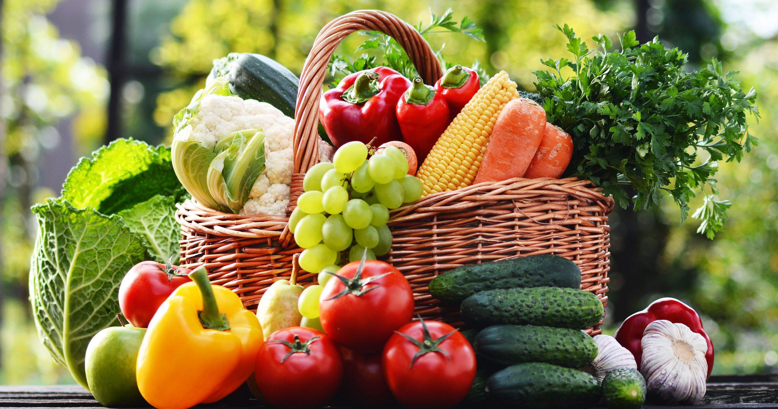 veel gezond voedsel