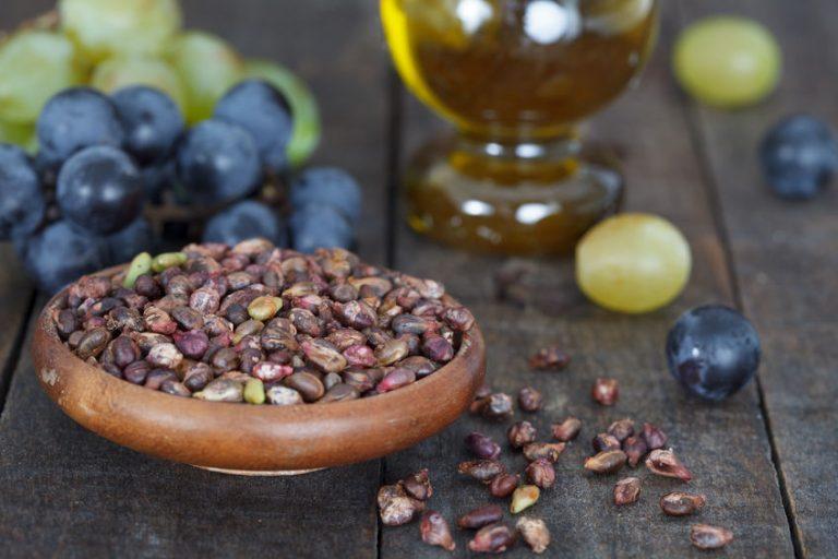 druiven en druivenpitten