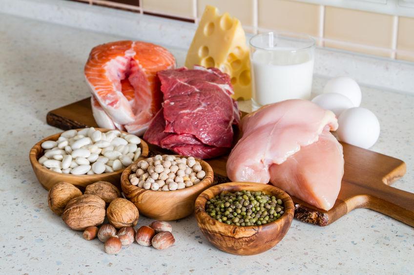 glycinerijk vlees