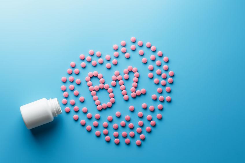 vitamine B12-pillen