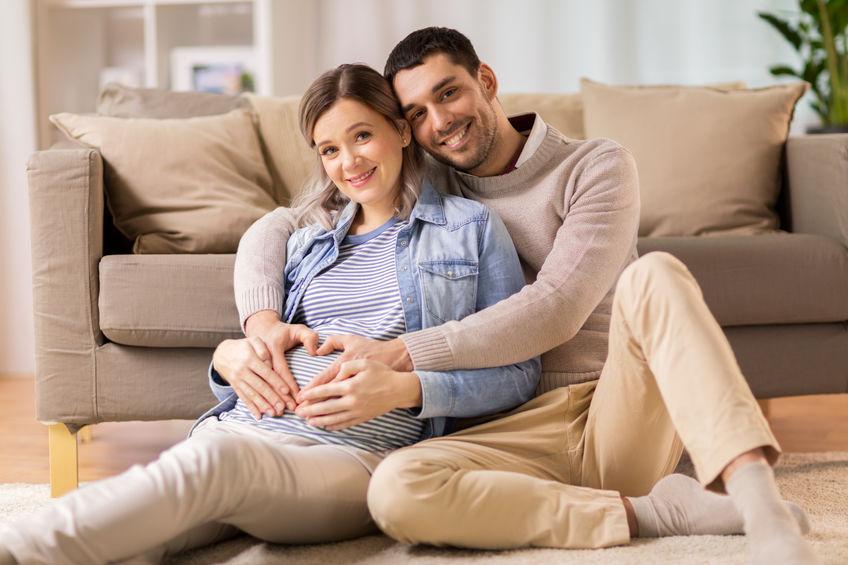 paar verwacht een baby