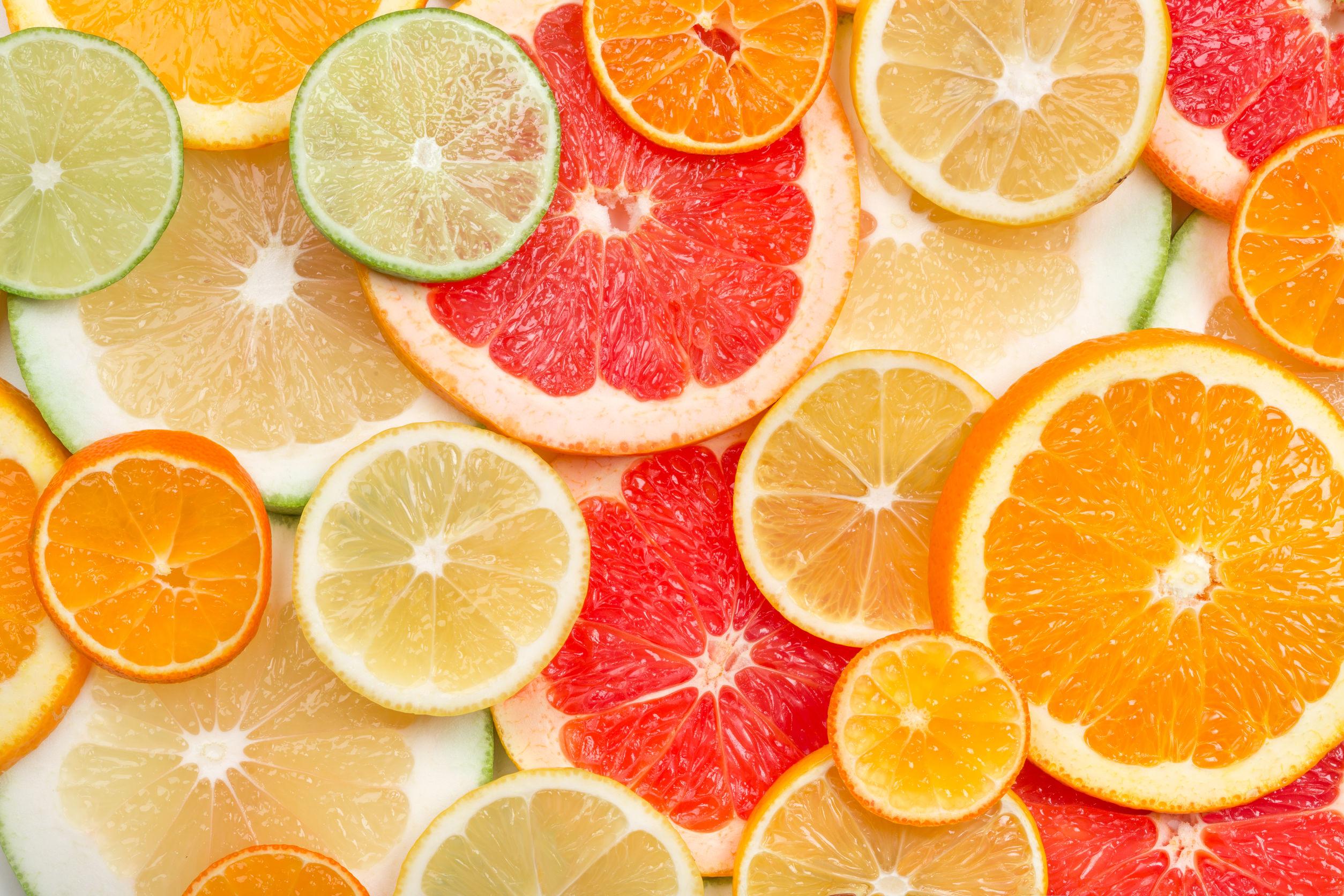 sinaasappels rijk aan vitamine c