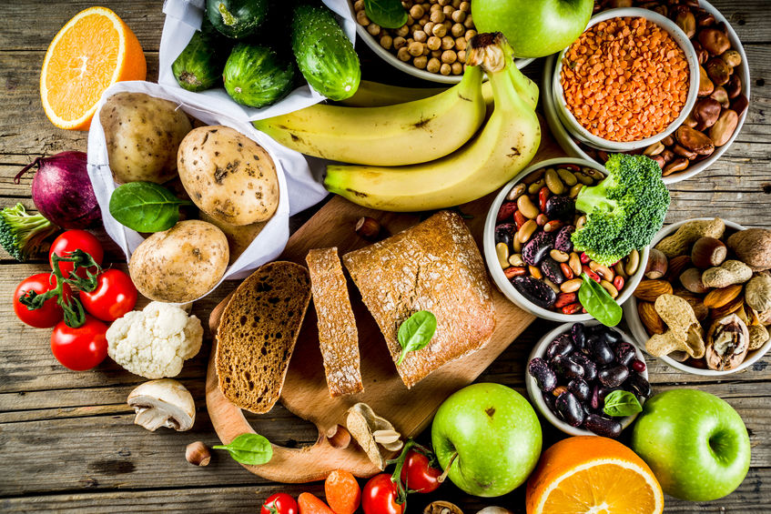 gezond voedsel voor de spijsvertering