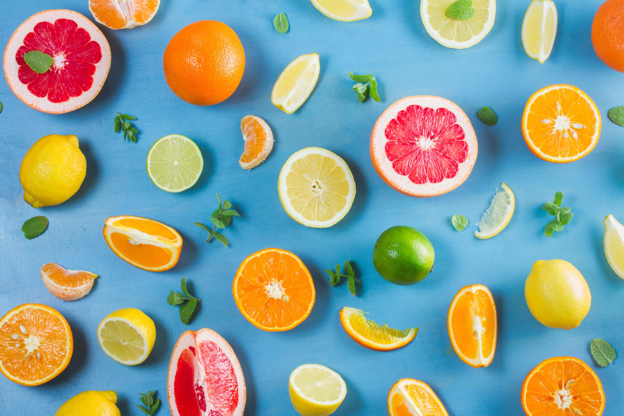 fruit rijk aan vitamines c
