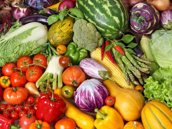 voedingsmiddelen voor een dieet dat rijk is aan vitamines