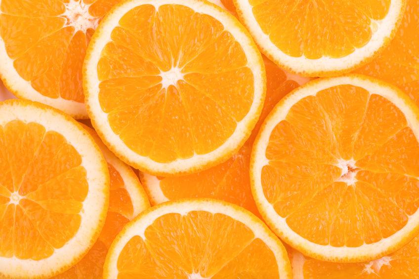 sappige sinaasappels
