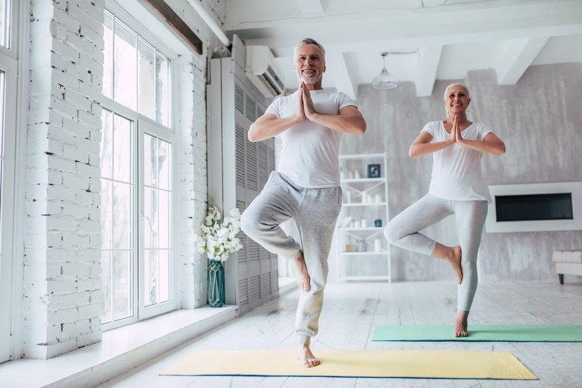 yoga beoefenen