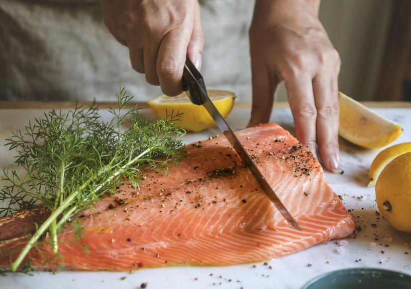 koken van vis