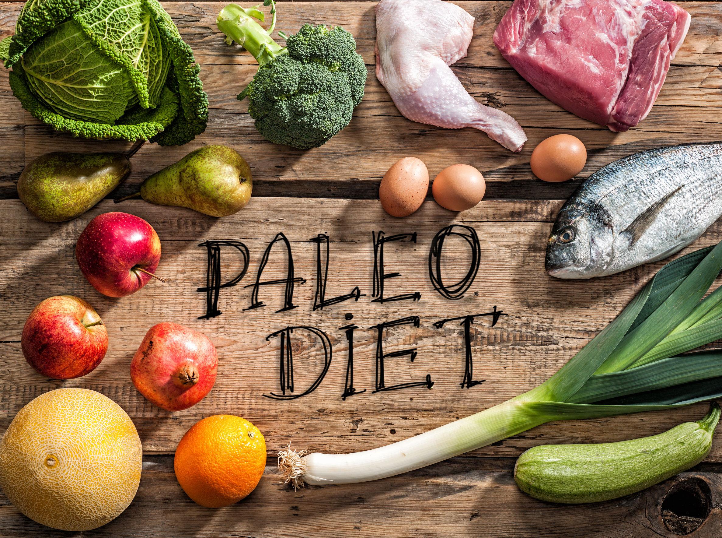 paleo dieet groenten