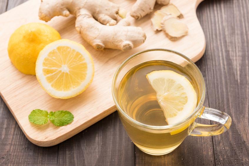 citroen gember thee