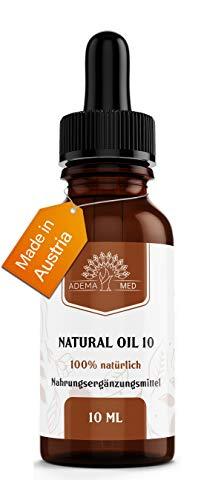 Adema Med® natuurlijke olie - 10% en sterk gedoseerde natuurlijke olie uit de mooiste plant ter wereld - veganistische en natuurlijke druppels van premium kwaliteit