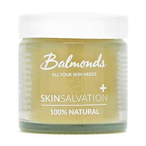 Balmonds Skin Salvation Eczeem Cream 60ml - eczeem, psoriasis en dermatitis zalf voor baby's, kinderen en volwassenen - Made in UK