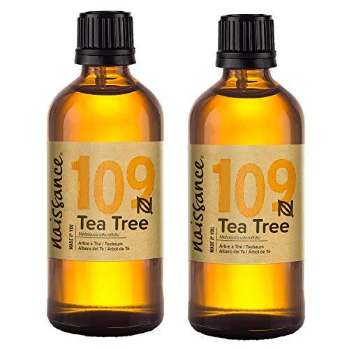 Naissance Theeboomolie (nr. 109) 200ml (2x100ml) 100% natuurzuivere etherische olie