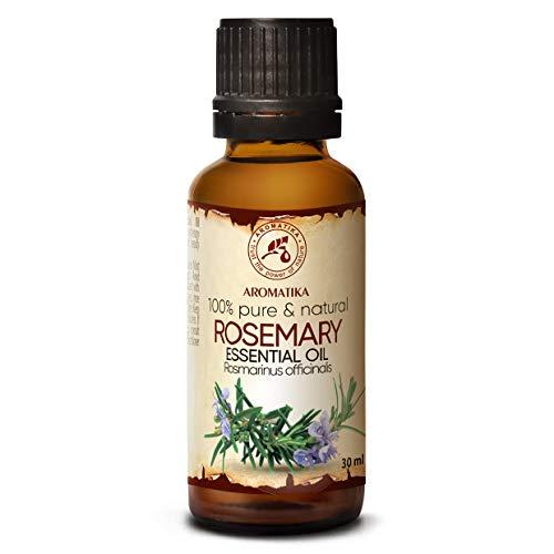 Rozemarijn olie - etherische olie 30ml, 100% puur & natuurlijk, essentiële olie - aromatherapie - geurolie - geurverspreider - ontspanning - toevoegen aan bad & cosmetica - massage - wellness - aroma lamp of elektrische diffuser
