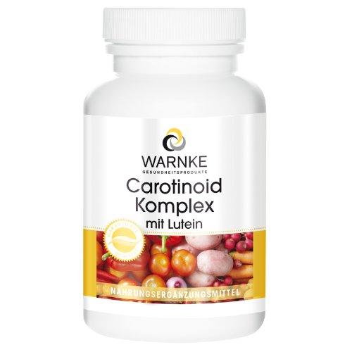 Carotenoïdencomplex - luteïne + zeaxanthine + bèta-caroteen + lycopeen - 250 capsules - bulk