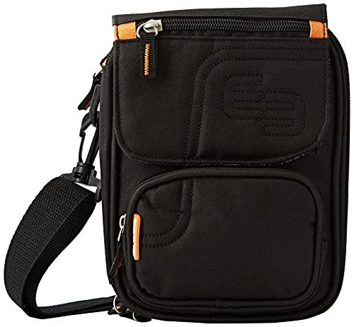 Elite Bags, diabeticietas, isotherme schoudertas, zwart en oranje, FIT'S