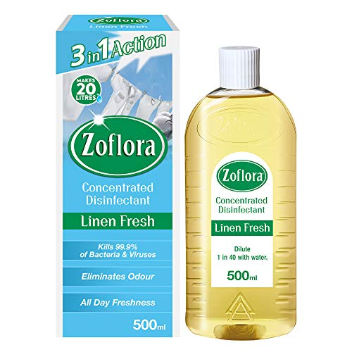 Zoflora Concentrated Disinfectant Linen Fresh 500ml