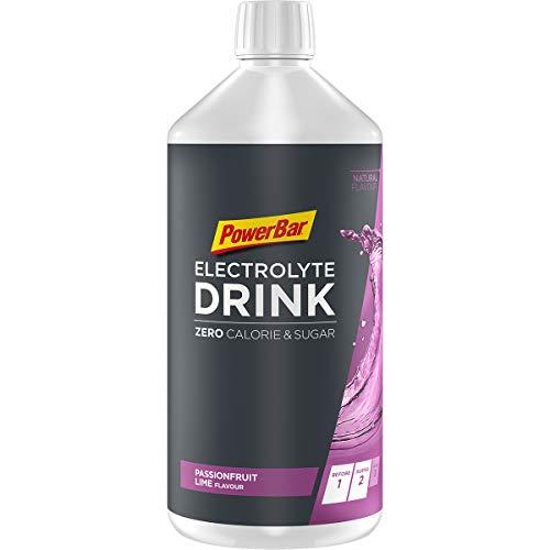 Powerbar Elektrolyte Drink Passionfruit Lime 1000ml - Isotonische sportdrank - 5 elektrolyten + C2MAX