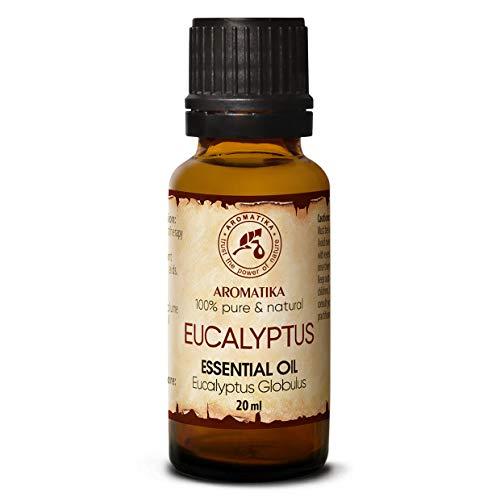 Eucalyptus olie - etherische olie 20ml, 100% puur & natuurlijk, essentiële olie - aromatherapie - geurolie - geurverspreider - ontspanning - toevoegen aan bad & cosmetica - massage - wellness - aroma lamp of elektrische diffuser