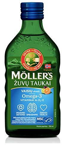 Möller's Omega-3 levertran Tutti Frutti (250 ml)