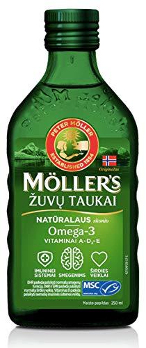 Möller's Omega-3 levertran natuur (250 ml)
