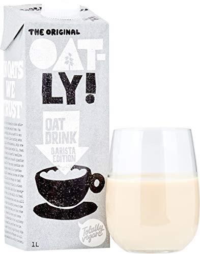 Oatly - Oat Drink - Barista Edition - 6 verpakkingen - 1 liter per verpakking - Vloeibare haver - Volledig schuimbaar - Plantaardig - Duurzaam - Rijk aan onverzadigde vetten
