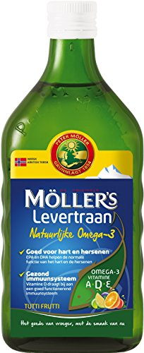 Mollers Omega-3 Levertraan Tutti Frutti, 250 ml, 1 Units