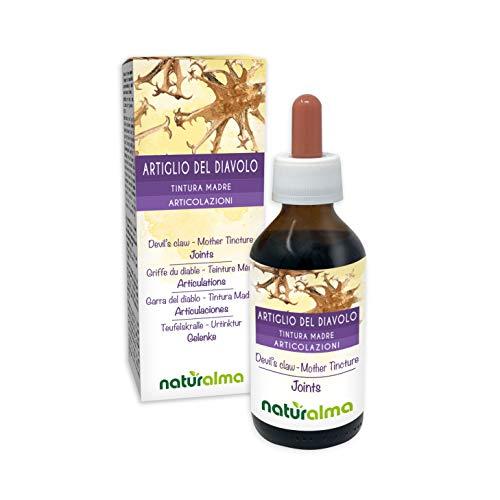 Duivelsklauw (Harpagophytum procumbens) wortels Alcoholvrije moedertinctuur Naturalma   Vloeibaar extract druppels 100 ml   Voedingssupplement   Veganistisch