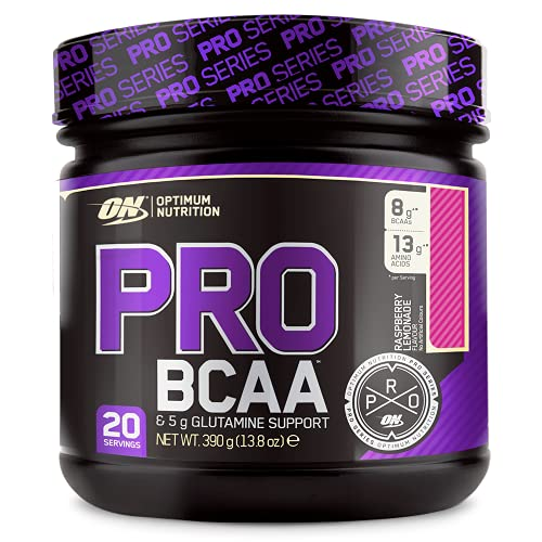 Optimum Nutrition Pro BCAA, Rasperry Lemonade, 390g